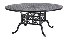 """Grand Terrace 66"""" Round Dining Table"""