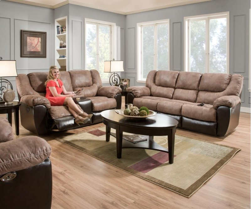 Collections Of Simmons Dual Reclining Loveseat