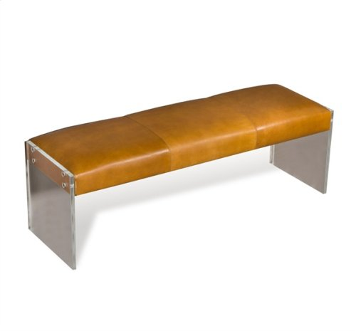 Aiden Leather Bench