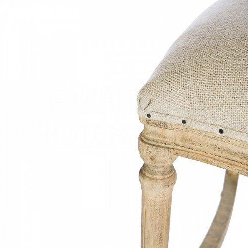 Chelsea Cane Back Linen Counter Stool
