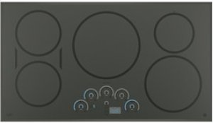 """GE Cafe 36"""" Electric Cooktop with Induction Elements"""