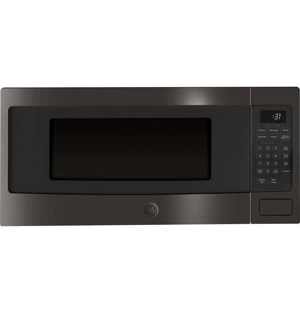 Pem31bmts Ge Profile 1 1 Cu Ft Countertop Microwave Oven