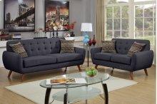 2-pcs Sofa and Loveseat Set