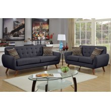 2-pcs Sofa and Loveseat Set