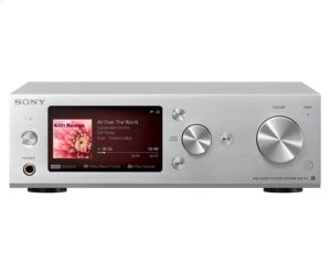 Silver 500GB Hi-Res Music Player System