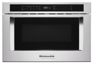 """24"""" Under-Counter Microwave Oven Drawer - Stainless Steel Product Image"""