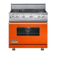 "36"" Custom Sealed Burner Dual Fuel Electronic Control Range, Natural Gas"