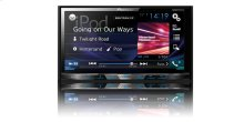 "Multimedia DVD Receiver with 7"" WVGA Display, MIXTRAX "", Built-in Bluetooth ® , SiriusXM-Ready """