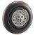 Additional Extender Round Body Spray - Polished Nickel