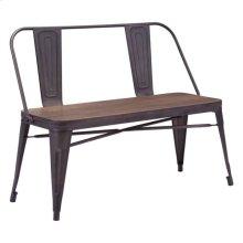 Elio Double Bench Rustic Wood