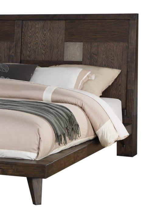 Emerald Home Millennium 6-piece Bedroom Set Weathered Oak B218-12-6pcset1-k