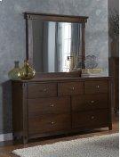 Drawer Dresser - Saddle Finish Product Image