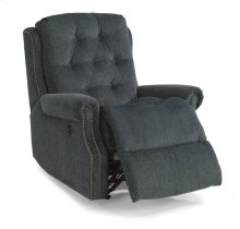 Davidson Fabric Power Rocking Recliner