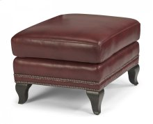 Sting Ray Leather Ottoman
