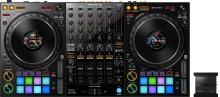 4-channel professional DJ controller and DMX lighting interface for rekordbox dj