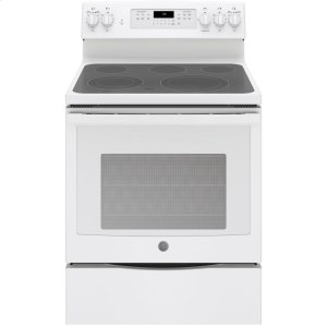 "GE®30"" Free-Standing Electric Convection Range"