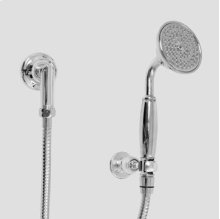 Wall Mount Handshower Set with Wall Bracket and Waterway