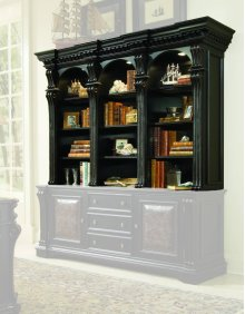 Telluride Bookcase Hutch