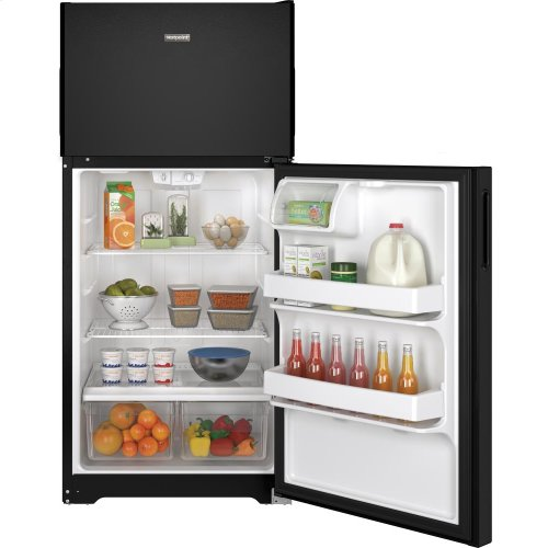 Hotpoint® 14.6 Cu. Ft. Recessed Handle Top-Freezer Refrigerator