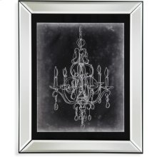 Chalkboard Chandelier SketchIV Wall Art