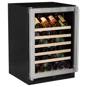 Marvel24-In Built-In Single Zone Wine Refrigerator with Door Swing - Left