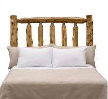 Traditional Headboard - King - Natural Cedar