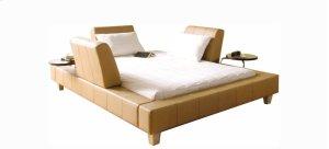 Voila Queen bed upholstered