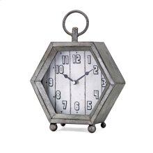 Hawkins Galvanized Clock