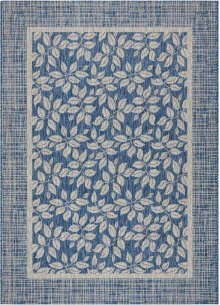 Country Side Ctr01 Denim Rectangle Rug 5'3'' X 7'3''