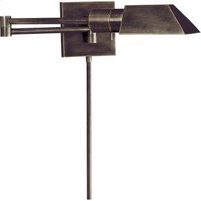 Visual Comfort 82034BZ Studio 24 inch 40 watt Bronze Swing-Arm Wall Light