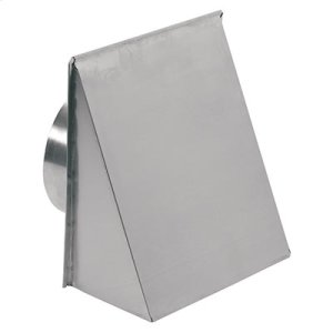 "Wall Cap for 8"" Round Duct for Range Hoods and Bath Ventilation Fans"
