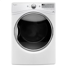 Whirlpool® 7.4 cu.ft Front Load Electric Dryer with Advanced Moisture Sensing, Steam Refresh - White