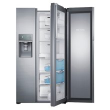 RH29H9000 29 cu. ft. Capacity Side-by-Side Food ShowCase Refrigerator (Stainless Steel)