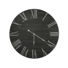 Black Joseph Wall Clock