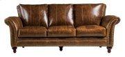 2239 Butler Ottoman 5507 Brown (100% Top Grain Leather) Product Image