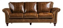2239 Butler Chair 5507 Brown (100% Top Grain Leather)