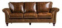 2239 Butler Sofa 5507 Brown (100% Top Grain Leather)