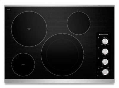 """30"""" Electric Cooktop with 4 Radiant Elements - Stainless Steel Product Image"""