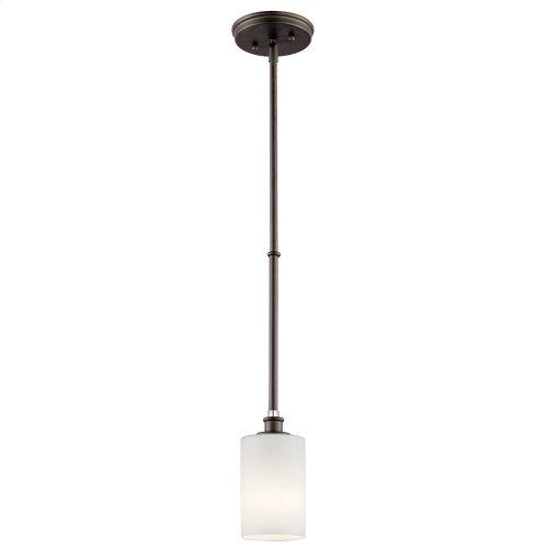 Joelson 1 Light Mini Pendant with LED Bulb Olde Bronze®