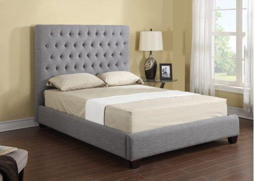 Headboard/footboard/rails/slats 6/6 Upholstered
