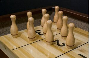 Bowling Pin Set For Shuffleboard Tables Product Image