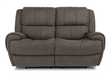 Nance Fabric Power Reclining Loveseat with Power Headrests