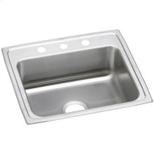 "Elkay Celebrity Stainless Steel 25"" x 22"" x 7-1/2"", Single Bowl Drop-in Sink"