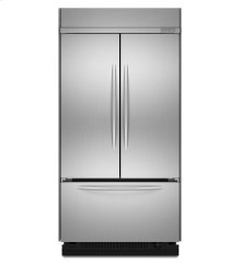 24.2 Cu. Ft. 42-Inch Width Built-In French Door Refrigerator, Architect® Series II - Stainless Steel