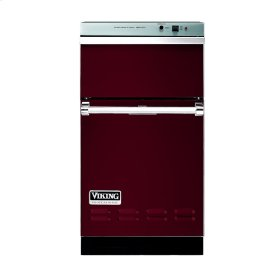 "Burgundy 18"" Wide Trash Compactor - VUC"