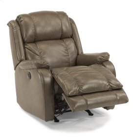 Marcus Fabric Power Rocking Recliner