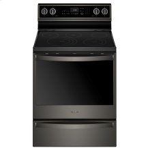 6.4 cu. ft. Smart Freestanding Electric Range with Frozen Bake Technology
