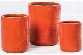 Firewall Planter - Set of 3