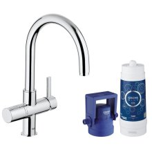 GROHE Blue Pure Kitchen Faucet Starter Kit