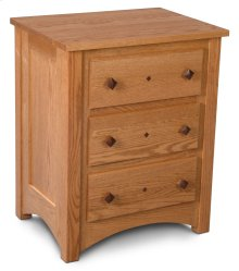 Royal Mission Nightstand with Drawers